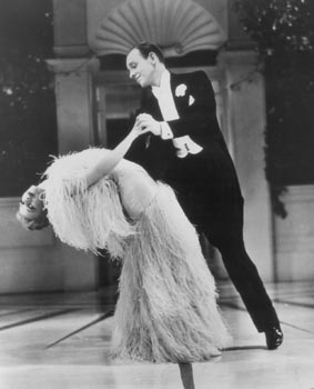de Fred Astaire y Ginger Rogers.